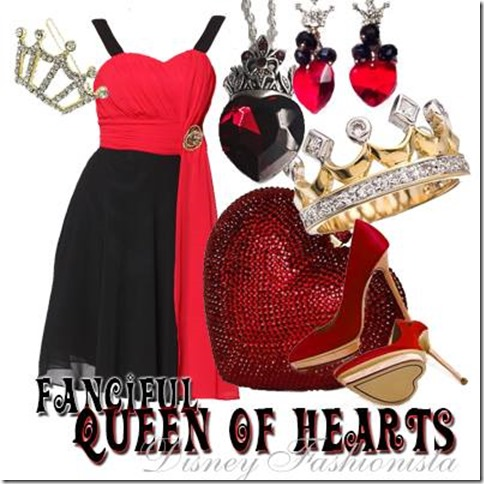 Disney Bounding With the Disney Fashionista Queen of HeartsQueen Of Hearts Disneybound