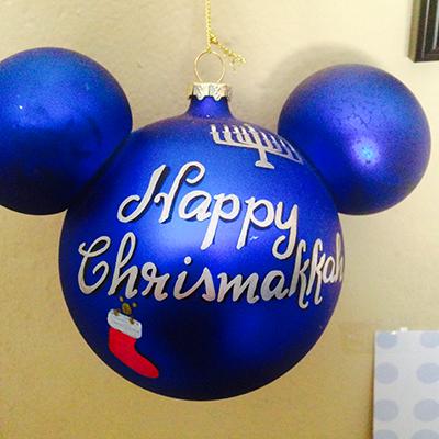 Happy Christmakkah Mickey