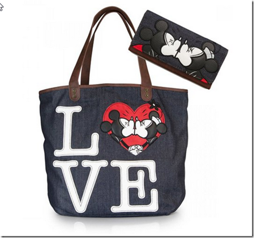 2015-02-15 04_51_59-Minnie X Mickey Love Kissing Disney Denim Tote and Wallet SET_ Handbags_ Amazon.