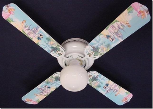 Disney Discovery Princess Castle Ceiling Fan