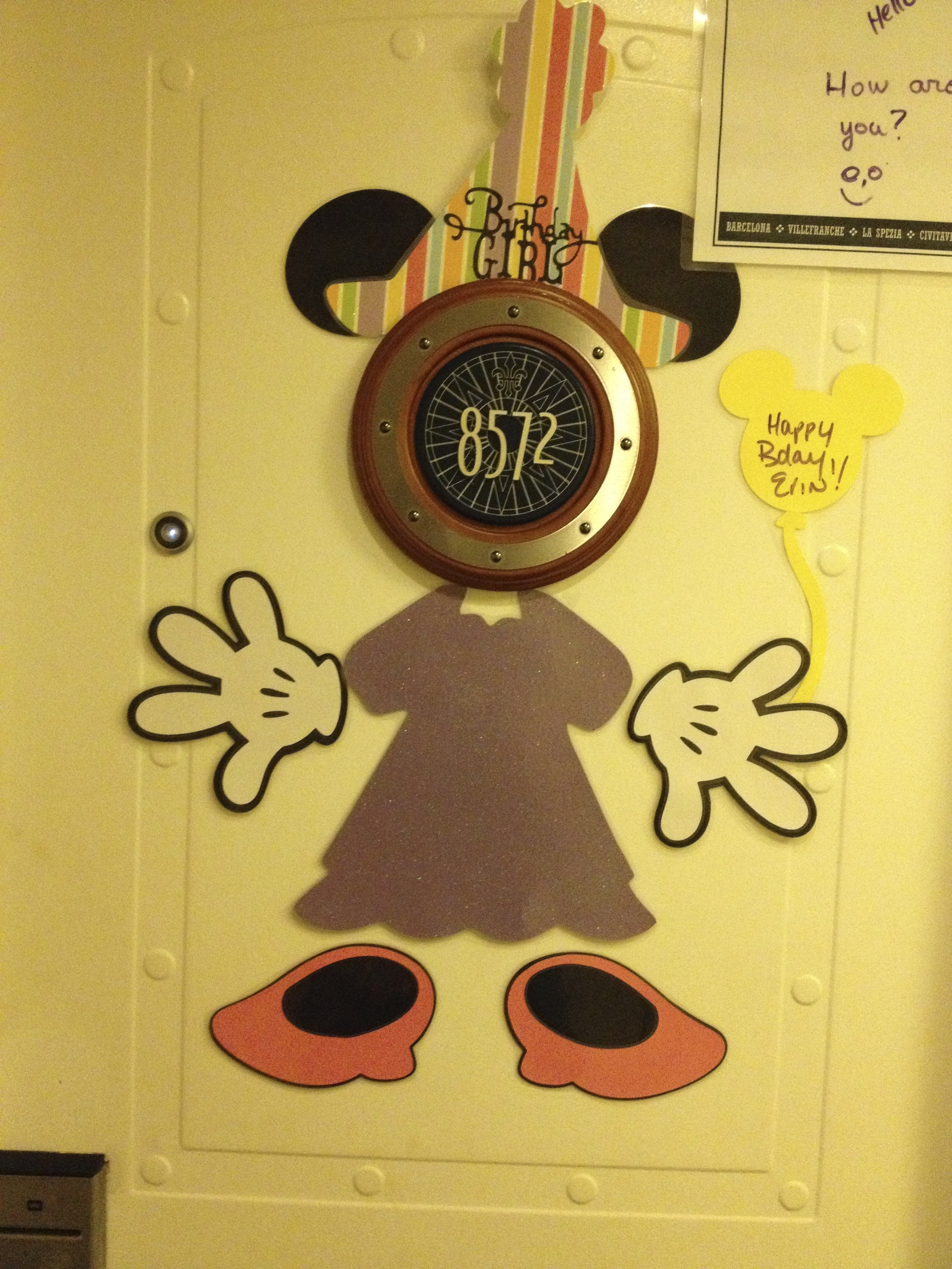 Birthday sign on our door #3 : disney door - Pezcame.Com