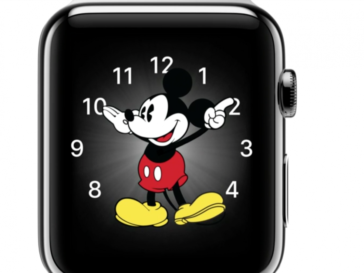 Apple And Mickey Mouse Take Over The Watch World
