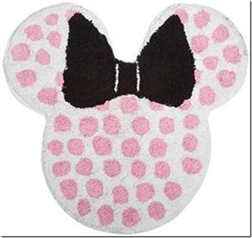 Mickey Mouse Bath Rug Home Decor