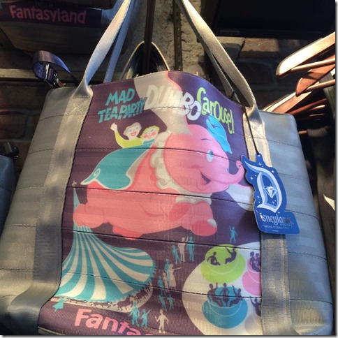 harveys disneyland fantasyland bag