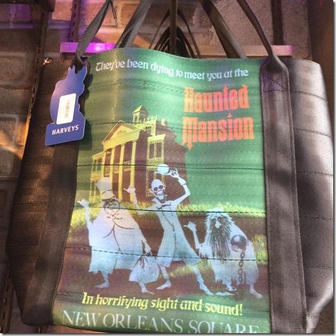 harveys for disneyland haunted mansion bag