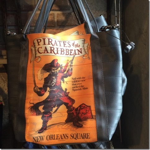 harveys for disneyland pirates of the carribean bag