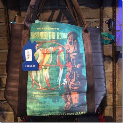 harveys for disneyland enchanted tiki room bag