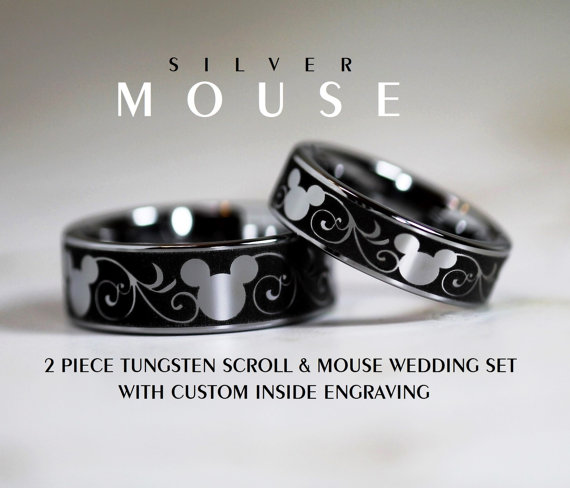 Disney Rings Perfect For Your Dream Wedding