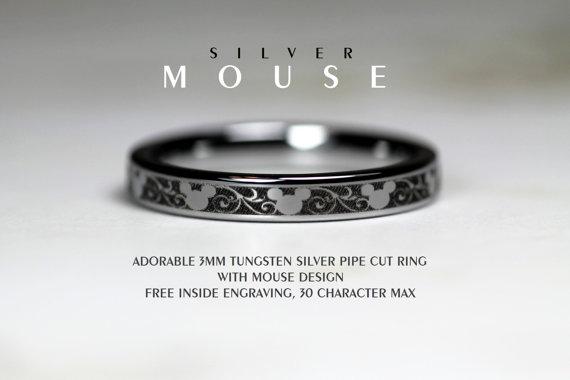 mickey mouse wedding ring - Wedding Decor Ideas