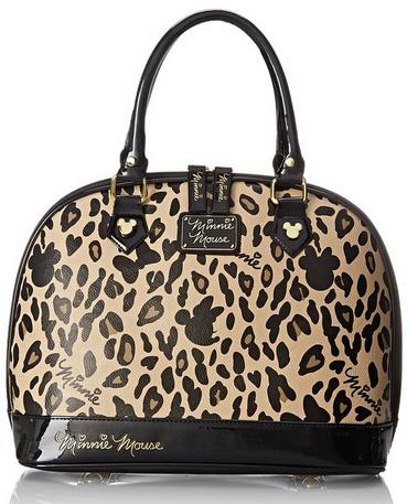 2015-09-21 23_43_55-Disney Minnie Leopard Tote Top Handle Bag, Tan_Black, One Size_ Handbags_ Amazon