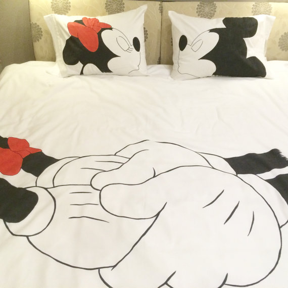 . Mickey and Minnie Bedding In ALL Sizes