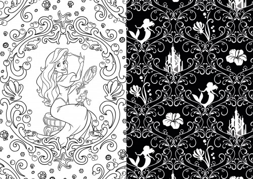 Disney Discovery Art Therapy Adult Coloring Books