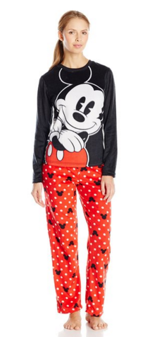 2016-01-11 10_05_32-Disney Women's Ladies Minky Pajama Set Mickey at Amazon Women's Clothing store_