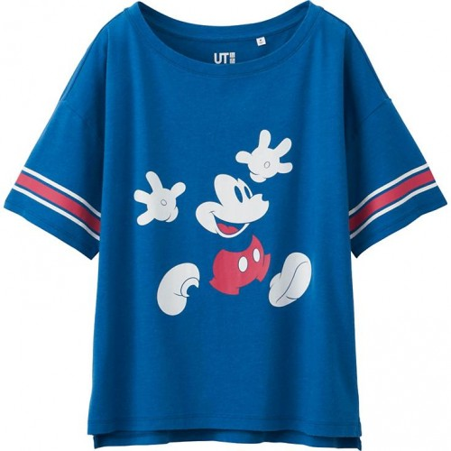 Uniqlo Mickey Mouse Graphic T-Shirt
