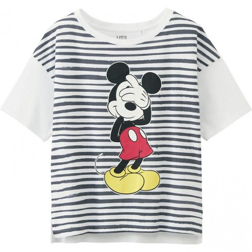 Uniqlo Mickey Mouse Short Sleave Graphic T-Shirt
