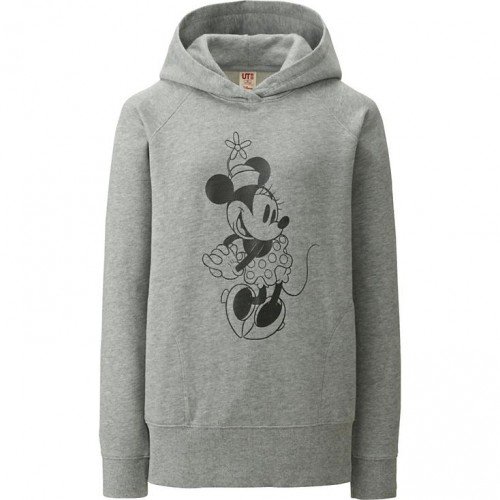 Uniqlo Minnie Mouse Long Sleeve Graphic Pullover