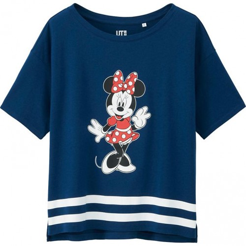 Uniqlo Minnie Mouse Short Sleve T-Shirt