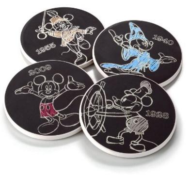 2016-02-15 01_41_22-Amazon.com _ Hallmark DYG9119 Mickey Mouse Through Thw Years Coasters_ Coasters
