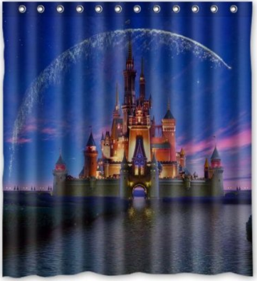 Disney Discovery- Assorted Castle Shower Curtains