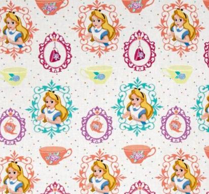 2016-02-23 05_37_19-Amazon.com_ Disney Alice Tea Time Alice and Teacups White Fabric