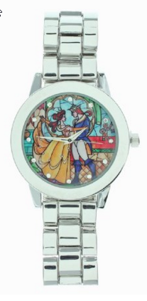2016-03-04 03_45_04-Amazon.com_ Disney Beauty And The Beast Stained Glass Dance Watch_ Kitchen & Din