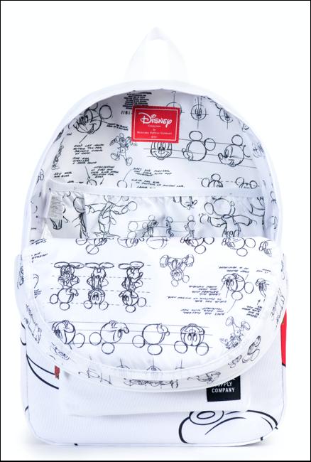 HD Mickey Backpack white
