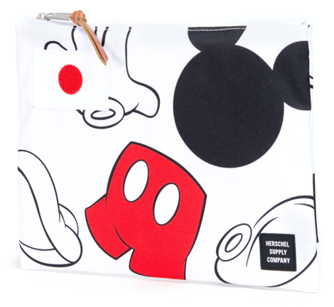 HD Mickey Pouch White