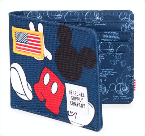 HD Mickey Wallet Blue