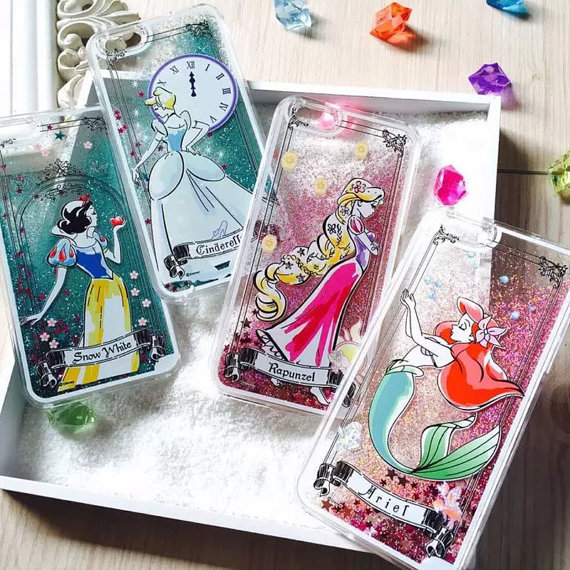 Princess Glitter Phone Cases For The Ultimate Fashionista