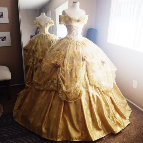 These Disney Princess Inspired Gowns Are Fit For A Ball Or Wedding Il 570xN824175462 Mj0k