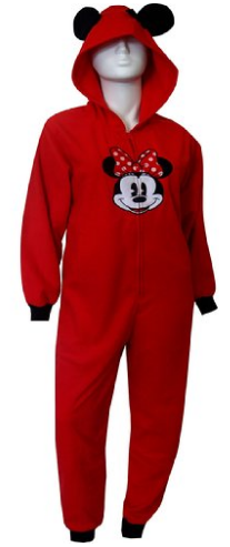 2016-05-07 00_10_36-Disney's Minnie Ears On Red Hooded One Piece Pajama for women at Amazon Women's