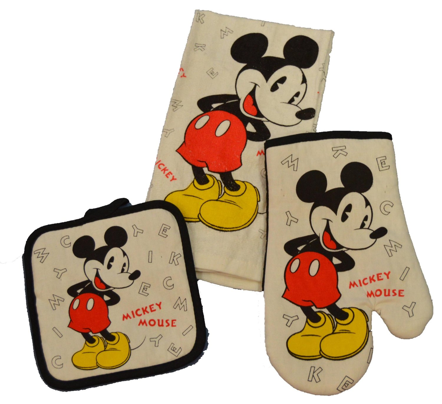 Disney Discovery- 3 Piece Mickey Mouse Kitchen Set