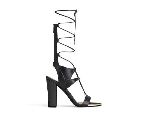 chunky sandal black