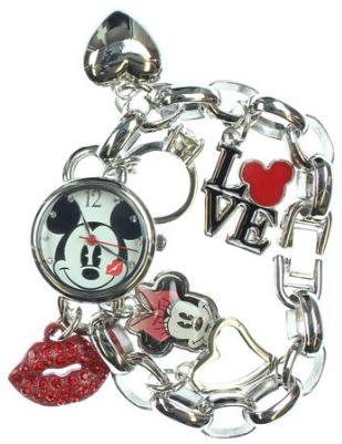 2016-06-20 01_03_20-Amazon.com_ Disney Women's Mickey Mouse _Love_ Charm Bracelet Watch MK2214_ Watc