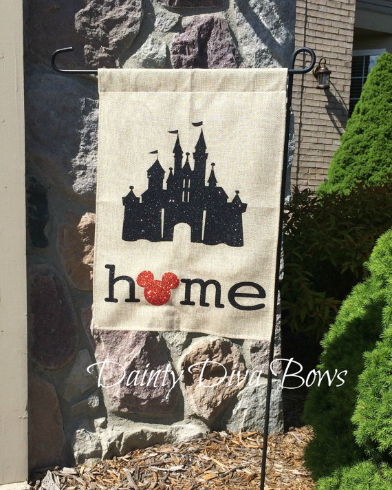 Give Your Garden A Lift With This Disney Garden Flag