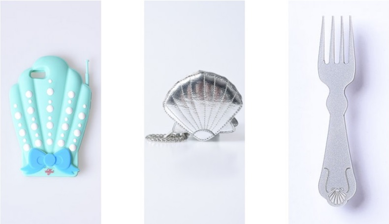Little Mermaid Accessories from Unique Vintage