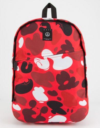 Neff camo backpack