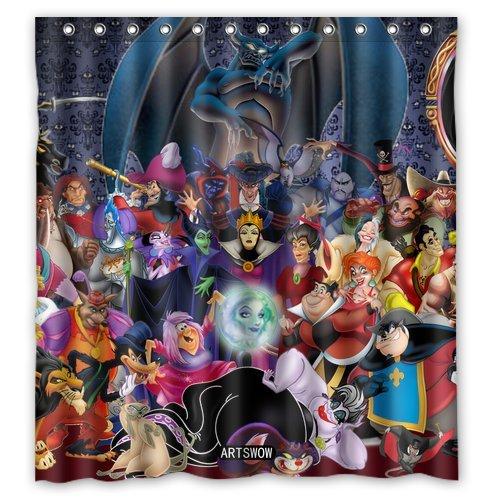 Disney Discovery Villain Shower Curtain
