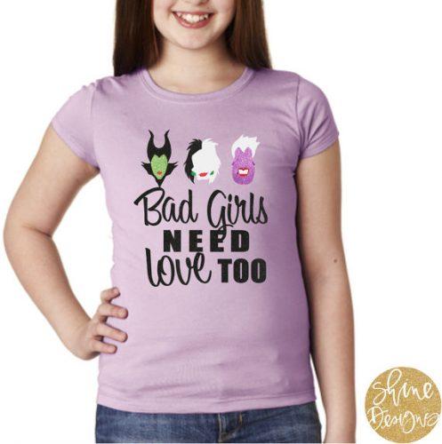 Bad Girls shirt 1