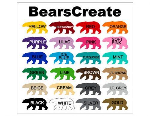BearsCreate Colors