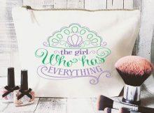 Disney inspired makeup bag