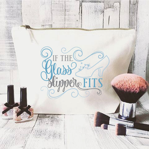 disney inspired makeup bags are fashionable and fuctional