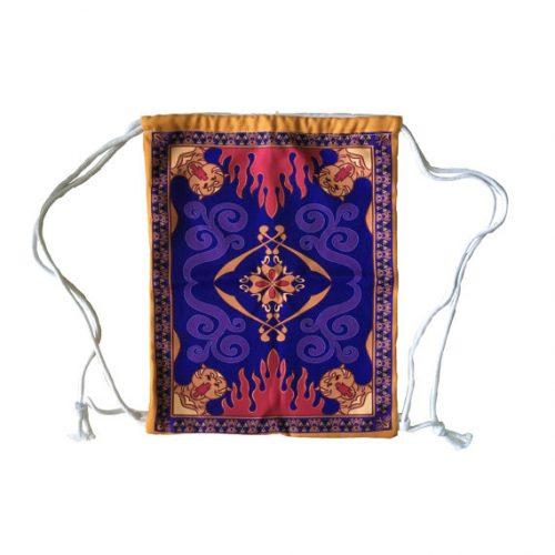 Magic Carpet Inspired Drawstring Backpack