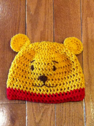 Winnie The Pooh Beanie Hat Comes In Sizes For Both