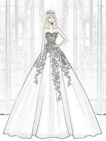 2017 Wedding Dress Sketches – fashion dresses