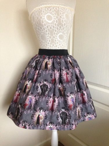 disney-villains-skater-skirt