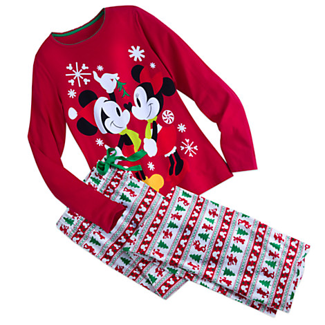 mickey and minnie mouse fun set for women - Mickey Mouse Christmas Pajamas
