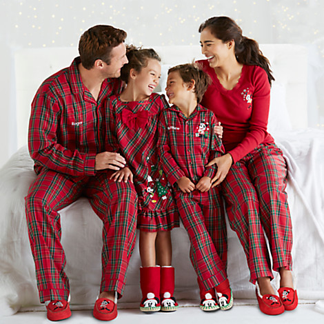 plaid-family-set