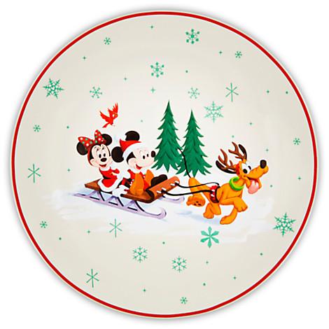 vintage-christmas-dessert-plate