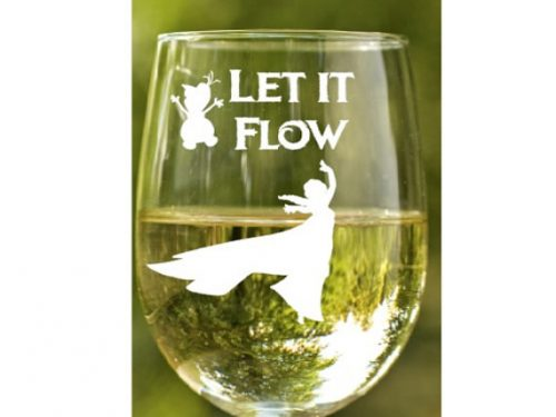 Sometimes You Just Need To Let It Go And Let The Wine Flow